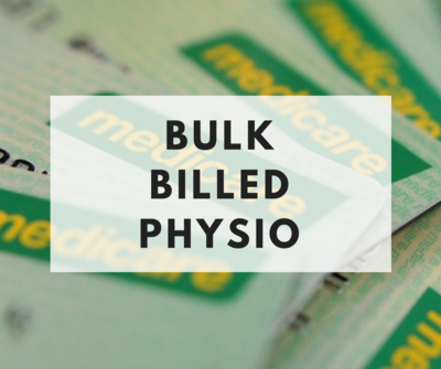 What is bulk billed physiotherapy? Am i eligible?