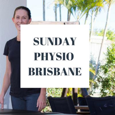 Sunday Physiotherapy Brisbane
